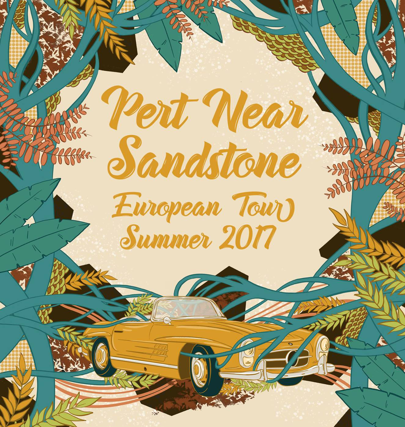 First European tour for Pert Near Sandstone starts this week