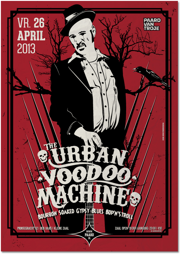 "The Urban Voodoo Machine release ""Rare Gumbo"" and visit the Benelux"