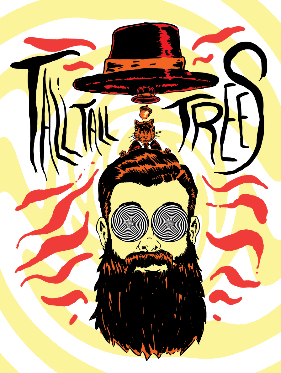 Tall Tall Trees does three shows in the Benelux this week